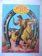 Western Coloring Book Samuel Lowe Canada 1960 Unused 24 Pages Rare
