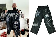 Wwe Luke Gallows Hand Signed Event Used Ring Worn Tights With Proof And Coa 5