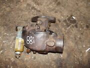 Ford 881 800 Series Tractor Tsx769 Marvel Carburetor Assembly W/ Glass Jar