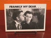 Vintage Gone With The Wind Classic Tv Greeting Birthday Card And Envelope Unused