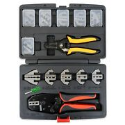 Interchangeable Ratcheting Crimper Set - Insulated Superseal Weatherpack