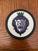 Reading Royals Echl East Coast Hockey League Official Puck Early Logo Free Case