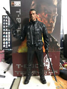 New Movie Crazy Toys Terminator 2 Judgment Day T-800 Arnold Schwarzenegge 12in