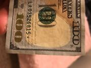 Crisp 100 Dollar Bill Star Note Us Federal Reserve Bank Series 2009 A-see Pic.