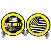 Security Officer Securing Your Safety Is Our Mission 1.75 Challenge Coin