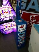 Vintage Mobil Oil Tank Can Can Rat Hot Rod Gas And Oil Man Cave Gasser Cool Stuff