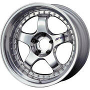 19x8.5 Polished Wheel Work Meister S1 3p 5x4.5 16