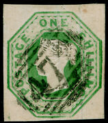 Sg55 1s Green Cut Square Fine Used. Cat Andpound1000. 4 Margins.