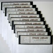 Cpmug ™ Library The Cp/m ® Users Group © 1983 Eleven 11 8 Inch Floppy Disks