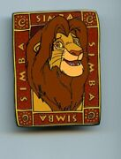 Disney Auctions Lion King Character Set 2 Adult Simba Le 100 Pin