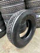 4 Tires 11r22.5 Amulet Ad507 Drive Cloused Shoulder 16 Ply 11r22 11 22.5