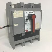 Ge Tpmm5612 1200a Power Break Breaker W/ Aux And Shunt 1200 Amp General Electric