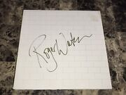 Pink Floyd The Wall Rare Roger Waters Signed Vintage Double Vinyl Lp Record Psa