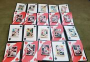 Disneyland Alice In Wonderland Mystery Card Collection Complete Set With Boxes