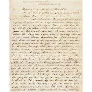 Autograph Letter Signed By Abraham Lincolnand8217s Friend David A. Smith