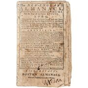 Paul Revere Engraving Andamp Ben Franklin Experiments The New-england Almanack -