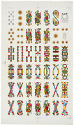 Complete Sheet Italian Playing Cards, Viassone