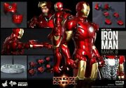 Dhl 1/6 Hot Toys Mms256d07 Marvel Iron Man Die-cast Mk3 Mark Iii Action Figure