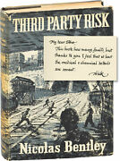 Nicolas Bentley Third Party Risk Signed First Uk Edition 1953 147703