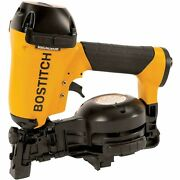 New Bostitch Pneumatic Coil Roofing Nailer, Fastener Range 3/4 - 1-3/4 4.8 Lbs