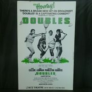 Doubles Theater Broadway Window Card Poster 14 X 22
