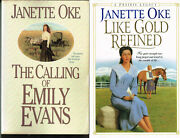 Like Gold Refined + The Calling Of Emily Evans By Janette Oke 2 Books