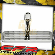 For Chevy Ford Mopar Universal Chrome Billet Rear View Mirror Ball Milled