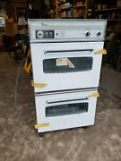 Vintage Nos 30 Whirlpool Built In Double Oven Rve2688 Mid Century