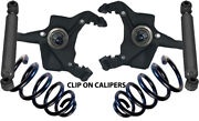 J 1973-1991 Chevy C30 Drop Spindles 3 For Clip On Calipers 3 Coils And Shocks