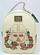 Loungefly Star Wars Darth Vader Flowers Mini Backpack Roses Floral