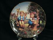 M.j. Hummel Apple Tree Boy And Girl Little Companions Numbered Collector Plate