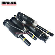 Luftfederung 4x Front Shock Absorber Hydraulic Abc Rear Strut For Mercedes W220
