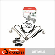 Timing Chain Kit Water Pump Fit 15-17 Ford Fusion Edge F150 Lincoln 2.7 Turbo