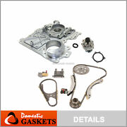 Timing Chain Kit Timing Cover Water Pump Fit 07-11chevrolet Hummer Gmc 2.9 3.7l