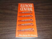 October 1960 Illinois Central Railroad System Public Timetables