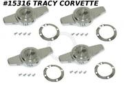 1956-1962 Corvette Hubcap Spinner Gm3725239 W/ Retainer And Screw Set