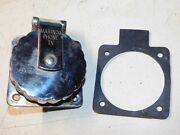 Marinco Stainless Steel Phone/tv Inlet Nautical Boat Decor