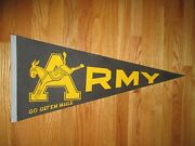 Vintage 70s Army West Point 30 Pennant