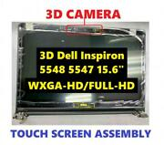 New Dell Inspiron 15 5548 15.6 Fhd Touch Screen Assembly W Realsense 3d Webcam