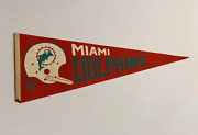 Miami Dolphins Vintage Pennant Banner