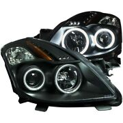 121395 Anzo Headlight Lamp Driver And Passenger Side New Coupe Lh Rh For Altima