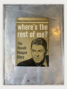 Where's The Rest Of Me Signed Ronald Reagan Biography, 1965, 1st Ed. 3rd Pr.