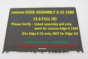 New Lenovo Edge 2-15 15.6 Fhd Lcd Touch Screen Digitizer Assembly Nt156fhm-a13