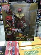 Bandai Tamashii Nations S.h. Figuarts Armored Red Ranger Mighty Morphin Power ,
