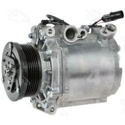 98487 4-seasons Four-seasons A/c Ac Compressor New With Clutch For Lancer 08-09