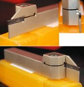 Glanze Indexable Grooving / Parting Lathe Tool 16 Mm Square Shank 2 Mm Insert