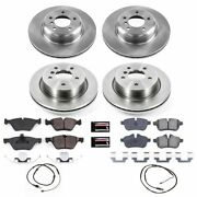 Koe6417 Powerstop 4-wheel Set Brake Disc And Pad Kits Front And Rear New For Z4