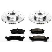 K15083dk Powerstop 4-wheel Set Brake Disc And Drum Kits Front And Rear New