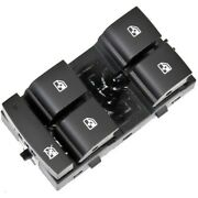 13305373 Ac Delco Power Window Switch Front Driver Left Side New Black For Chevy