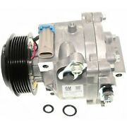 15-22301 Ac Delco A/c Compressor New For Chevy With Clutch Sedan Chevrolet Sonic